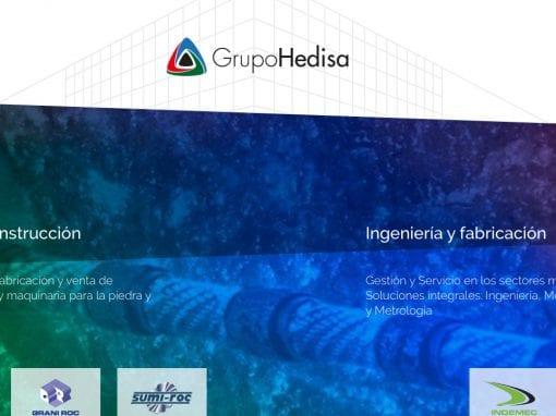 Grupo Hedisa – sitio web
