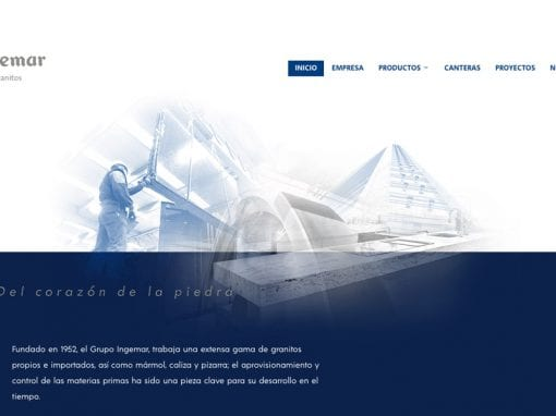 Grupo Ingemar – sitio web