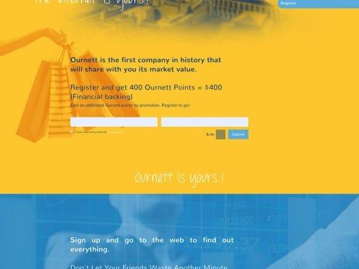Ournett – sitio web