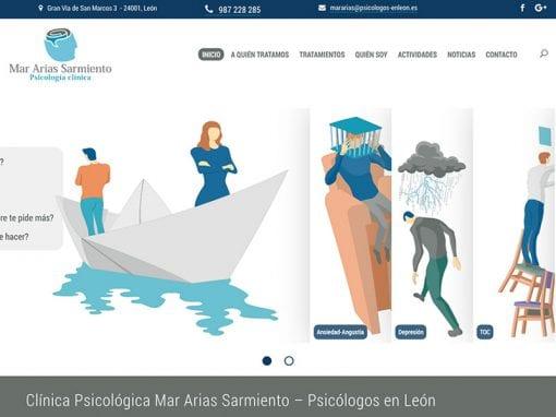 Mar Arias Sarmiento – sitio web